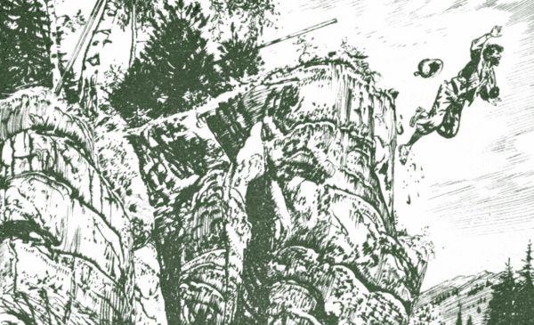 Luskač, ilustrace: Burian-  Revír bez hranic